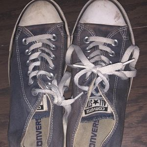 Navy blue converse size 7